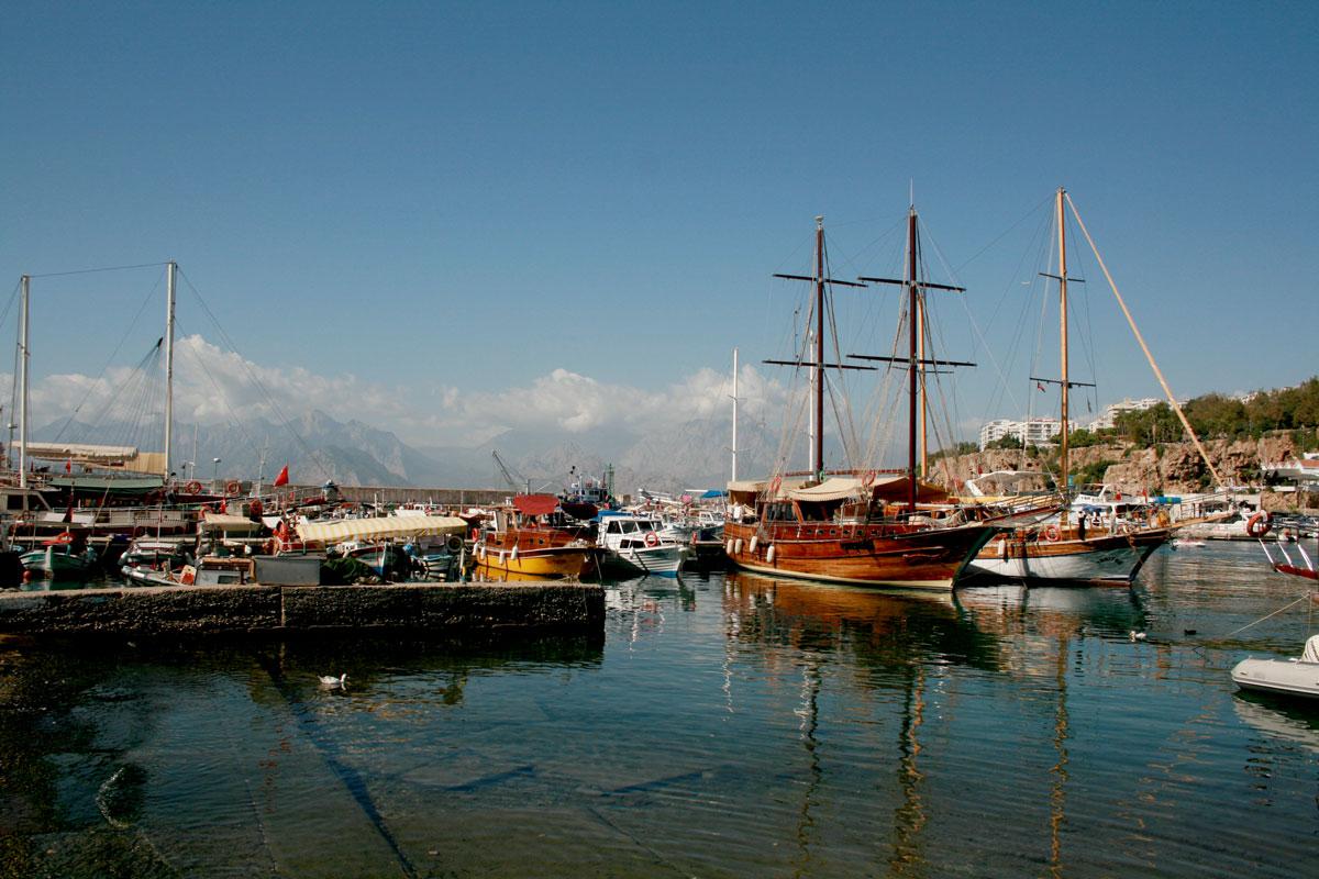 marina w Antalyi