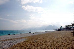 plaża w Antalyi