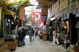 Bazar w Sirince