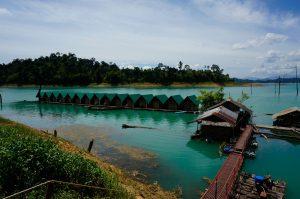 Khao Sok domki na wodzie