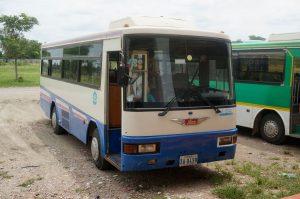 Kambodia bus